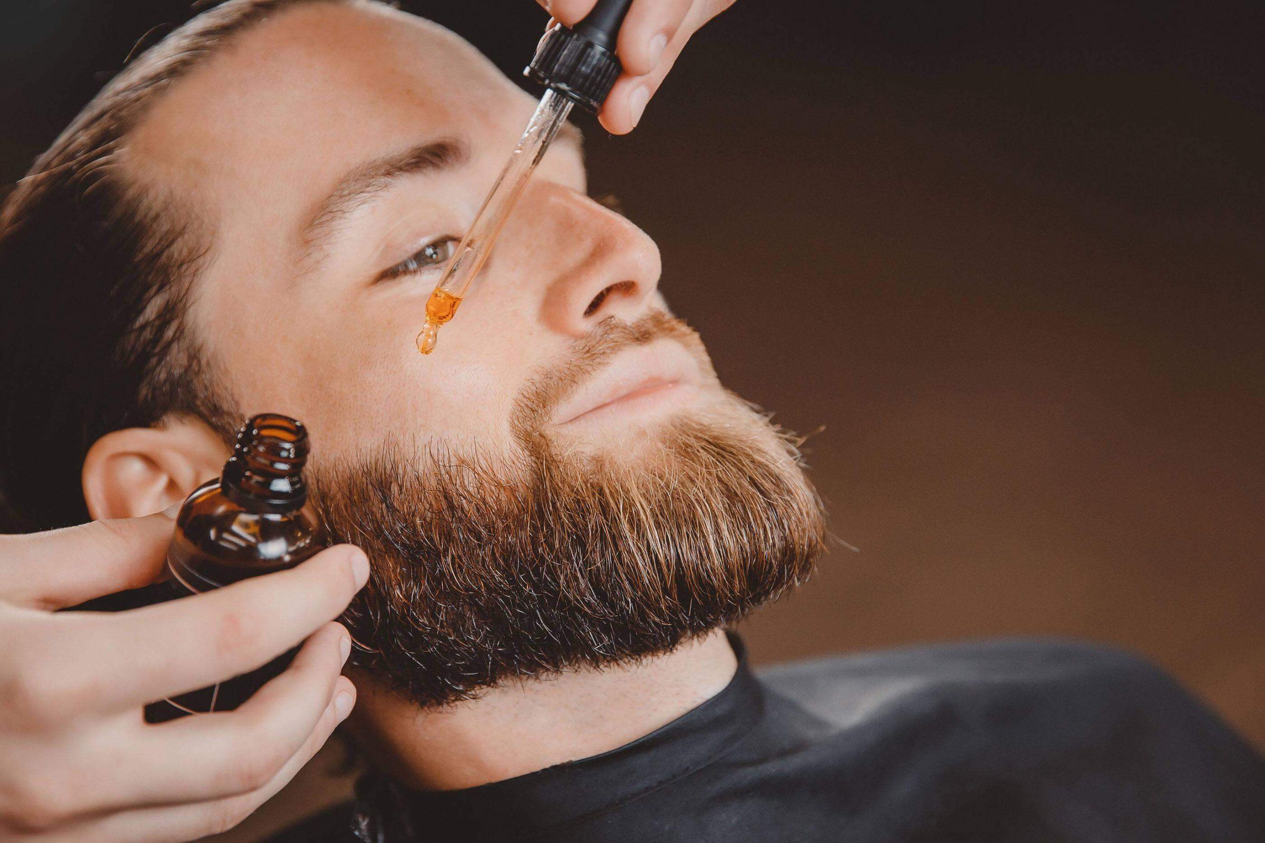 маска для роста бороды