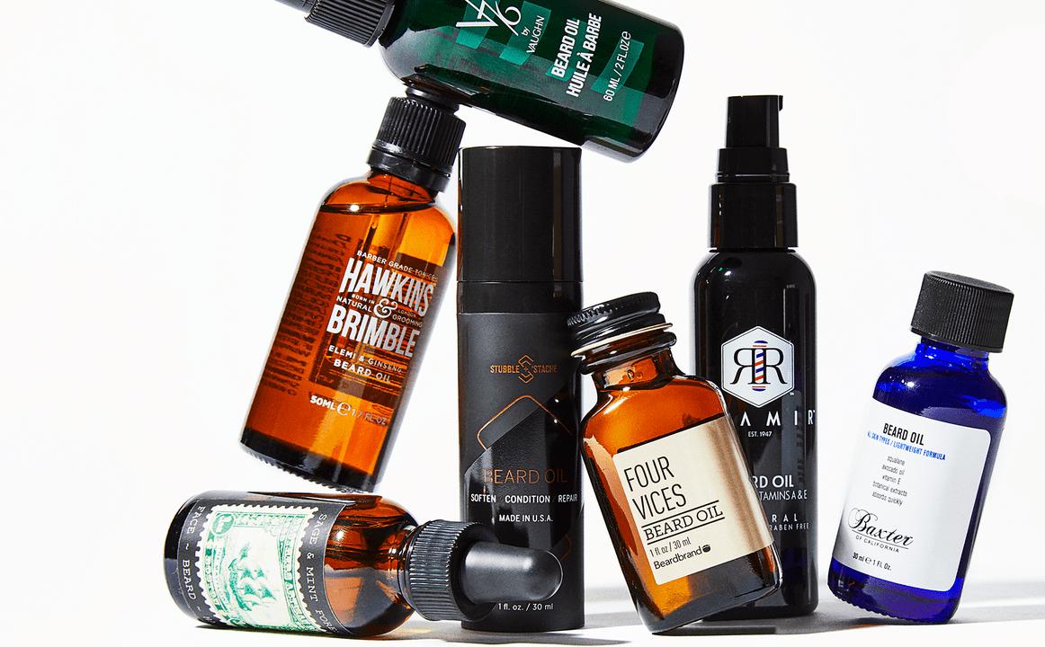 Различные масла для роста бороды