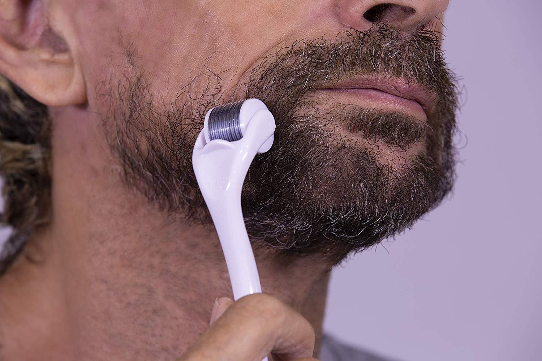 Массажер ролик для бороды