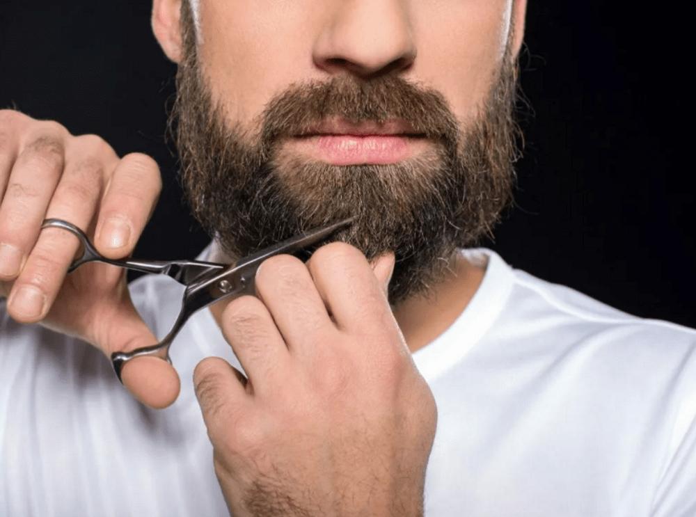Подстригание бороды