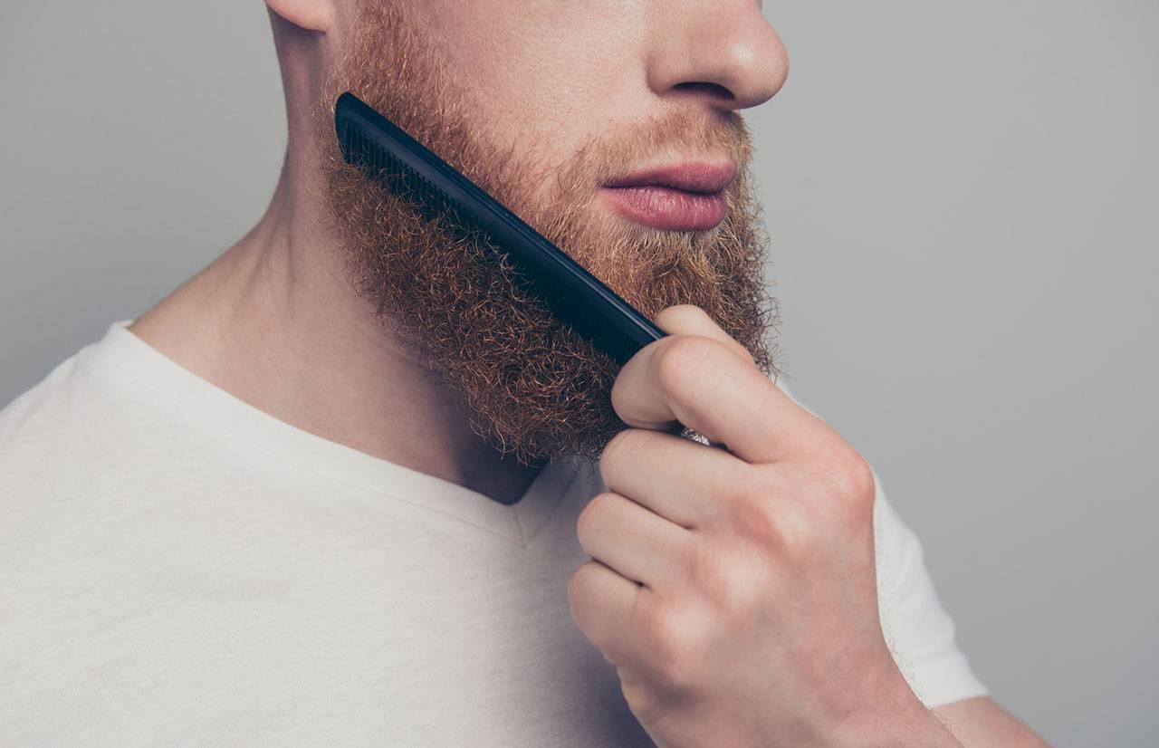 Филировка бороды