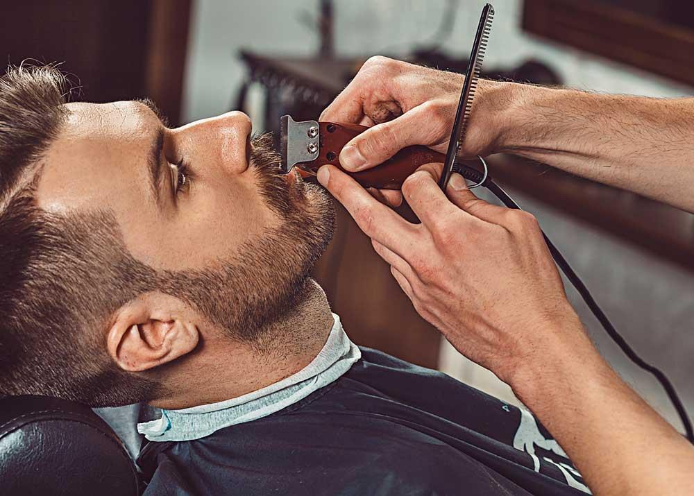Стрижка бороды в барбершопе