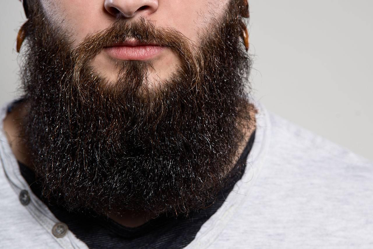 что делать чтобы борода росла черной