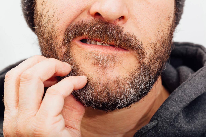 колется борода при отращивании